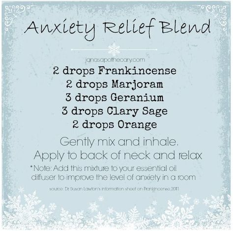 Essential Oils: Anxiety