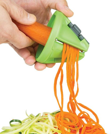 Look at this Hand-Held Veggie Pasta Maker on #zulily today!