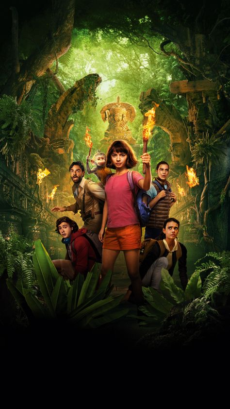 Dora and the Lost City of Gold, adventure family movie, 2019, 2160x3840 wallpaper