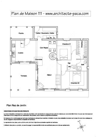 Plan De Maison Moderne Gratuit A Telecharger