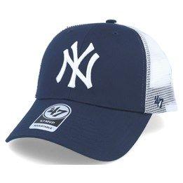 47 New York Yankees Mens Adult Mesh Trucker Snapback Cap Hat Navy