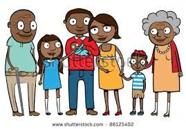 Image Result For Visit Family Clipart African American Family Clipart Cartoons Vector Cartoon
