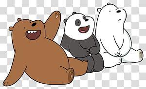 We Bear Bears Polar Bear Giant Panda Grizzly Bear Cartoon Network Bears Transparent Background Png Clipart We Bare Bears Bear Cartoon Bare Bears