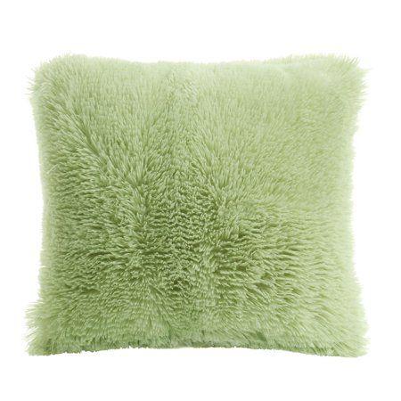 throw pillows faux fur throw pillow