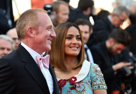 Salma Hayek and Francois-Henri Pinault - The Most Stylish Celeb Couples on the Cannes Red Carpet - Photos