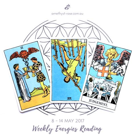 #WeeklyEnergies #WeeklyTarotReading for 8 - 14 May 2017  Our relationships are on a more stable footing this week. Recent conversations have created deep understanding between individuals that benefit the relationship as well. Emotional support is highlighted...   Click on the image to see the whole reading :)  <3 Vanda x   #WeeklyReading #EnergyOfTheWeek #GeneralReading #Tarot #TarotReadings #InsightsFromTheTarot #WisdomOfTheTarot #ReadingsWithVanda #IntuitiveReadings #IntuitiveTarot #Email...
