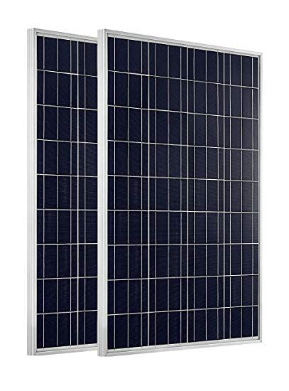 Eco Worthy 200 Watts 2pcs 100 Watt Polycrystalline Solar Panel 12 Volt Battery Charging For Rv Boat Review Buy Solar Panels Solar Panels Solar Panel Cost