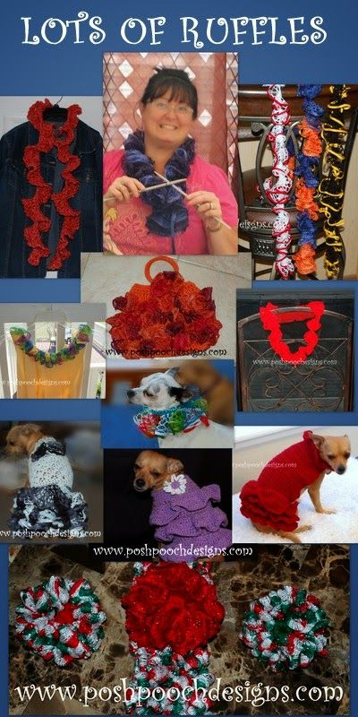 Ruffles, Ruffles and More Ruffles Crochet Patterns - Tuesday ...