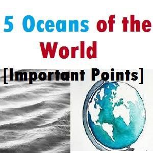 General Knowledge Oceans Of The World Httpwwwmahendraguru - Important oceans of the world