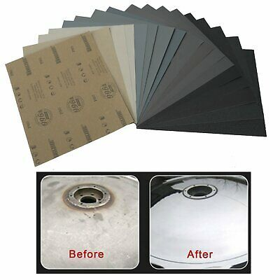 Ebay Advertisement Sanding Sheets Wet Dry Silicon Carbide Waterproof Sandpaper Grits 9x11 Usa Dust Free Sanding Auto Body Repair Things To Sell