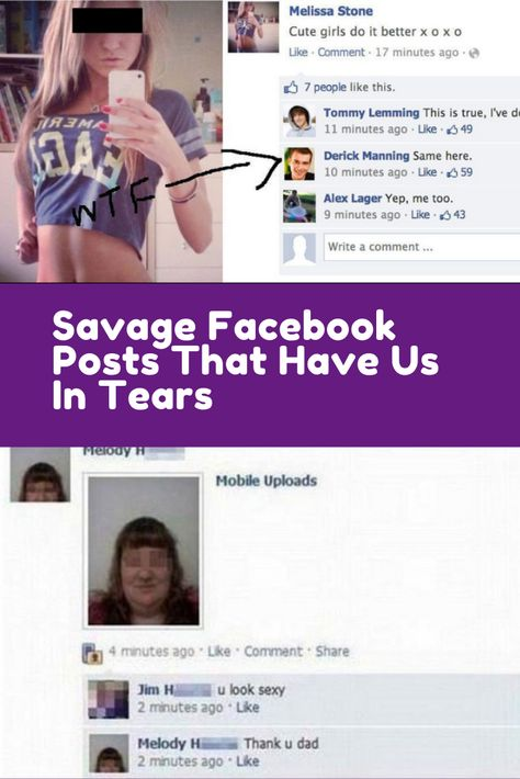 Facebook is a dangerous place. When you put your life out there on the internet for everyone to see, sometimes it doesn't go as expected. #Internet #viral #trending #funny #Hilarious #humor #Omg #bizarre #weird #wtf