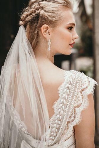 42 Coiffures De Mariage Avec Voile Mariage En Avant Cheveux Courts De Mariage Coiffure De Mariage Avec Voile Coiffure Mariage