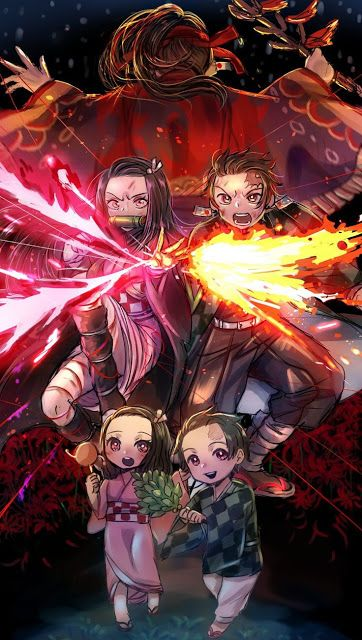 Newest Demon Slayer Anime Wallpaper | Kimetsu No Yaiba Manga Wallpaper