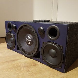 Insanely Loud 150w Bluetooth Speaker Boombox Speaker Box Diy Speaker Bluetooth Speaker