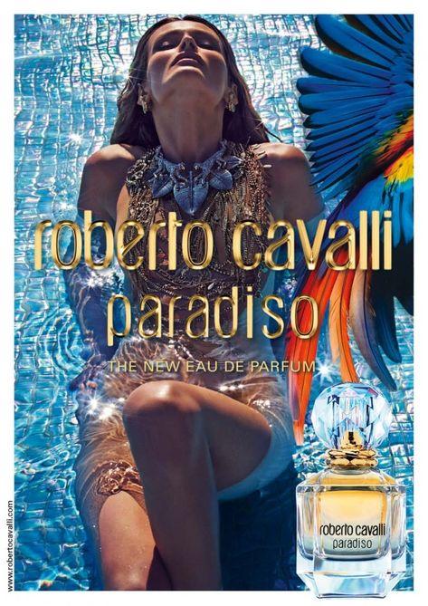 "Edita Vilkeviciute Goes Naked in Roberto Cavalli ""Paradiso"" Fragrance Ad"