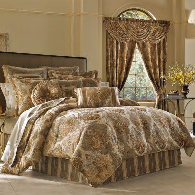 Queen Street Brooke 4 Pc Comforter Set, J Queen New York Bedding Lauralynn