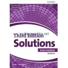 Solutions Intermediate Workbook 3rd Edition In 2020 Workbook Class Book Intermediate