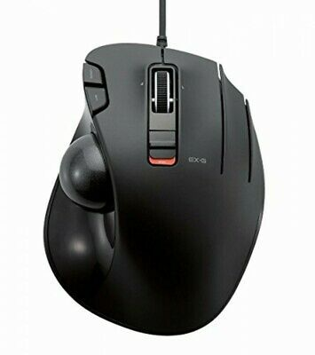 Ebay Link Ad Elecom Wired Mouse Track Ball 6 Button Black M