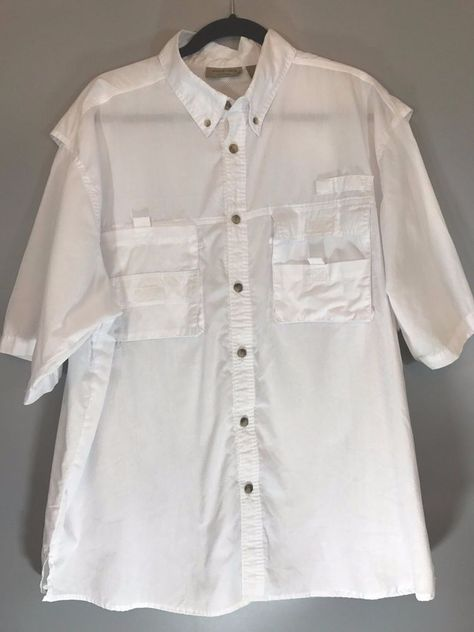 Size L White Shirt On Front