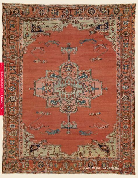 Antique Circa 1875 Connoisseur Caliber Northwest Persian Serapi Rug 9 10 X 12 5 Claremont Rug Co Persian Rug Designs Claremont Rug Company Serapi Rug