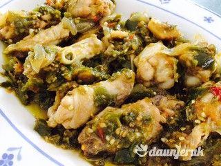 Resep Ayam Cabe Hijau Green Chilli Chicken Resep Ayam Makanan Resep Makanan