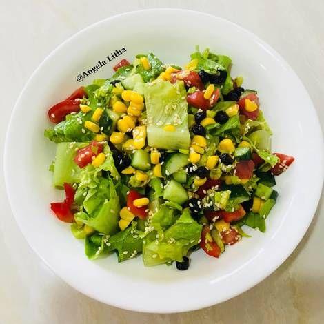 Resep Salad Sayur Oleh Angela Litha Resep Resep Salad Memasak Salad Sayur