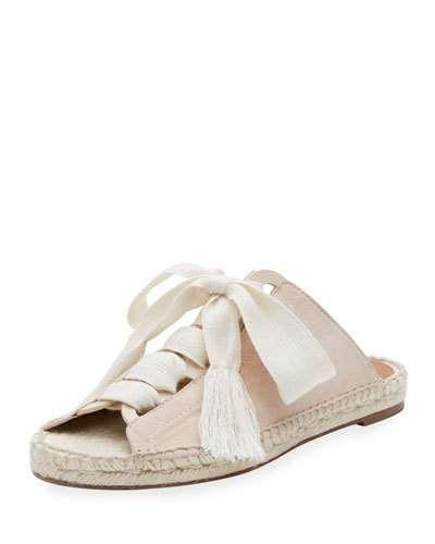 4f91849353 Harper Lace-Up Espadrille Slide | Products | Espadrilles, Lace up ...
