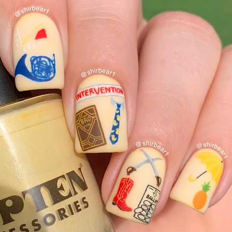 HOW I MET YOUR MOTHER Nail Art