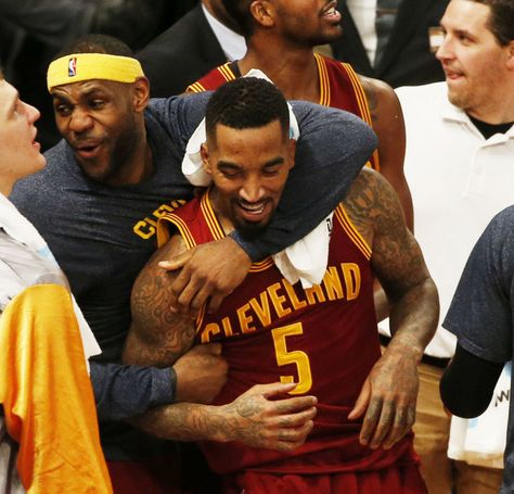Iman Shumpert, J.R. Smith accentuate why LeBron James believes in the