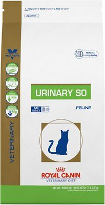 Royal Canin Veterinary Diet Urinary So Dry Cat Food 17 6 Lb Bag Chewy Com Royal Canin Dry Cat Food Cat Food Brands