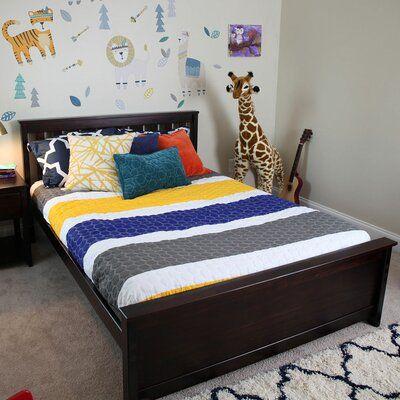 Harriet Bee Bolin Platform Bed Bed Frame Color Espresso Size