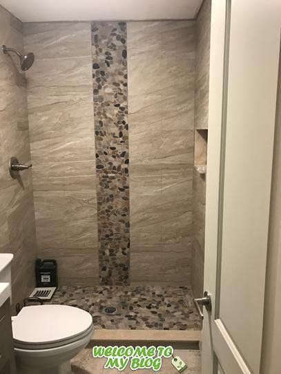 Ejemplo De Aplicacion De Azulejos Decorativos In 2020 Bathroom Inspiration Modern Master Bathroom Makeover Bathroom Tile Designs