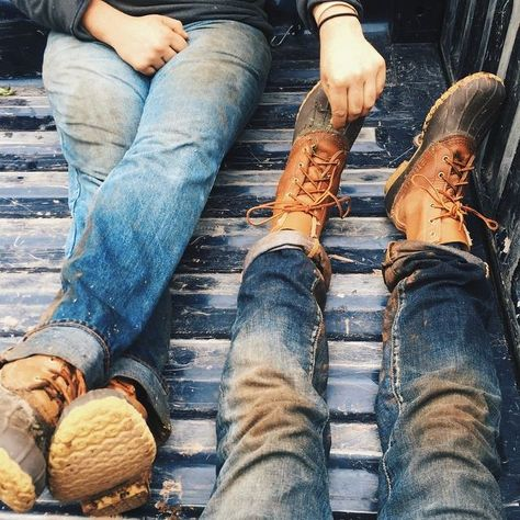 Nothing like putting your feet up after a long day. (Photo via Instagram: chocolatesandtomatoes) #LLBeanMoment L.L.Bean Bean Boots