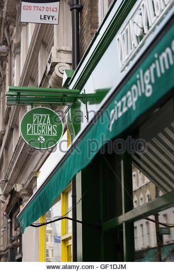 Pizza Pilgrims Covent Garden Stock Image Pizza Pilgrim