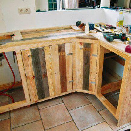 36++ Fabriquer une cuisine en bois de palette ideas in 2021