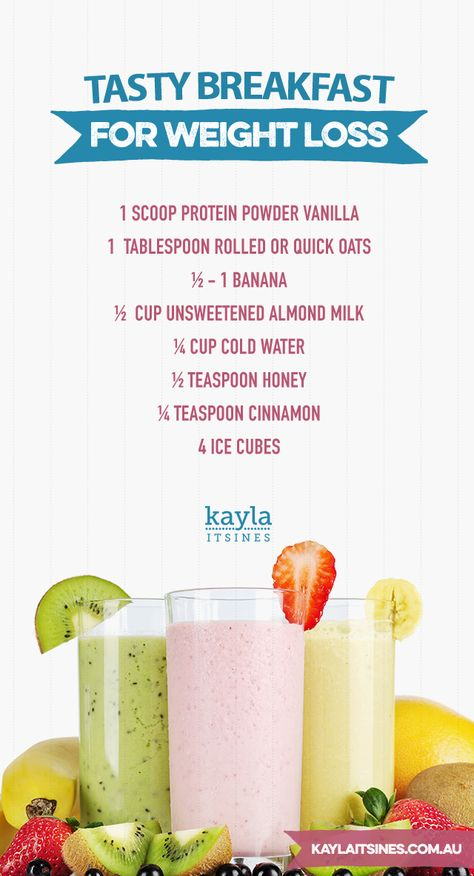 KAYLA ITSINES!! She has the best ideas and tips! :D awesome breakfast weight loss PROTEIN PACKED Smoothie!!! #SMOOTHIE :)