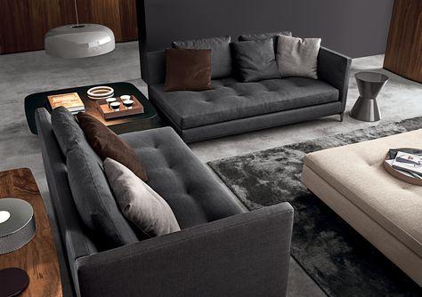 MINOTTI ANDERSEN SLIM 103 interior design ideas Pinterest - designer ecksofa lava vertjet