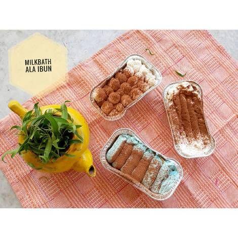Resep Milkbath Ala Ibun Oleh Ala Ibun Resep Makanan Dan Minuman Makanan Kue