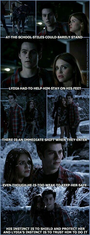 Teen Wolf-Stiles and Lydia, aka *Stydia* Dylan O'brien, Teen Wolf Dylan, Teen Wolf Cast, Teen Wolf Quotes, Teen Wolf Funny, Teen Wolf Memes, Teen Wolf Stydia, Meninos Teen Wolf, Teen Wolf Ships