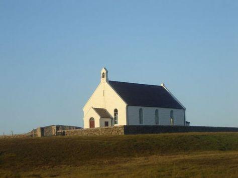 Fair Isle / Friðarey / Fara - kirk   Sealtainn ⛵   Pinterest ...