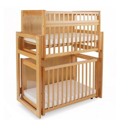 La Baby 3 Piece Space Saving Modular Window Crib System In
