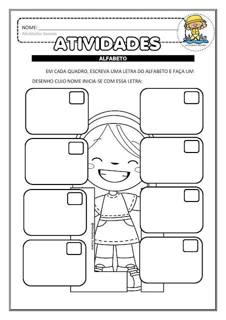 Alfabetizacao Em Pdf Atividades Iniciais Atividades Pedagogica