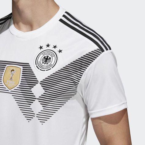 0185d1b6362 Fan Apparel   Souvenirs ADIDAS JULIAN DRAXLER GERMANY HOME JERSEY WORLD CUP  2018 White Black.