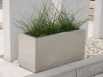 Pflanztrog Inoxx Aus Edelstahl Pflanzen Pflanzkubel Blumenkubel