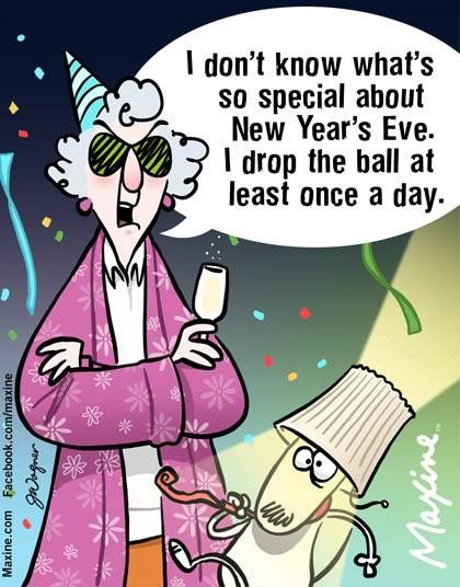 New Year S Eve Funny New Year Maxine New Years Eve Quotes
