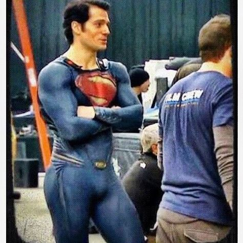 Our superman Henry Cavill