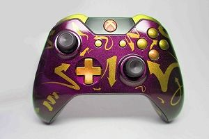 Gold Arrows Custom Xbox One Controller (Gamer Gadgets Nerd)