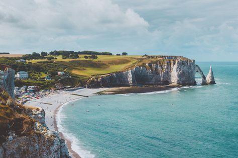 Ce Lundi C Est Escapade En Normandie Avec Les Belles Falaises D