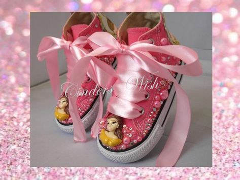 Belle pearl Converse Disney princess converse kids pearl