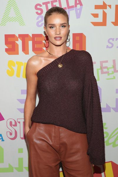 Rosie Huntington-Whiteley attends Stella McCartney's Autumn 2018 Collection Launch.